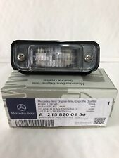 Genuine Mercedes-Benz C215 CL Rear Number Plate Lamp & Lens A2158200156 NEW