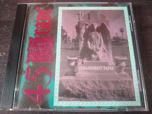 45 GRAVE - Debasement Tapes CD Deathrock / Industrial / Experimental