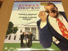 Sinbad First Kid  Laserdisc LD Disney Sinbad SEALED BRAND NEW