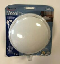 """Amertac 73061LA Battery Operated Utility Light Tap On/Off 5.5""""  Moon Lite Single"""