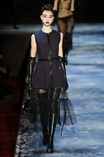 MARC JACOBS COLLECTION 2015 Runway Zip Front Mini Dress Sz 2 NEW WITH TAGS $1900