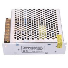 AC 110/220V to DC 12V 10A 120W Voltage Transformer Switch Power Supply NEW BT