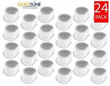 (24) GoldTone Charcoal Pet Water Filters for Drinkwell Avalon, Pagoda, & Sedona