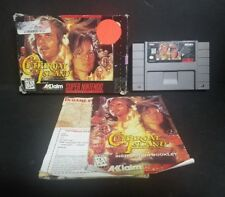 Cutthroat Island (Super Nintendo Entertainment System, 1995) SNES Complete Boxed