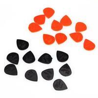 "20/50pcs Nylon Jazz III Guitar Picks Sharp Tip 1.38mm/0.05"" Pick Tin For Dunlop"