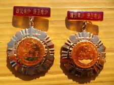China Military Navy Defend Spratly Islands Medal,Pair