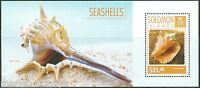 SOLOMON ISLANDS 2014 SEASHELLS  SOUVENIR SHEET MINT NH