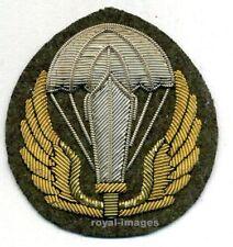 Distintivo da Paracadutista ricamato a mano in canottiglia Italian Paratrooper