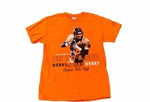 Peyton Manning T-Shirt Denver Broncos #600 Hurry Medium M Mile High Colts HOF 18