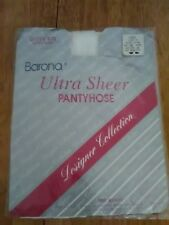 Ultra Sheer control top pantyhose Designer Collection Queen Size 1X-4X