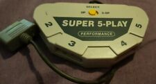Super Nintendo Super 5-Play SNES Controller Adapter 5 Player Players Performance