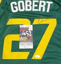 Rudy Gobert Signed (Jazz) Jersey Size Large In Person JSA CERTIFIED