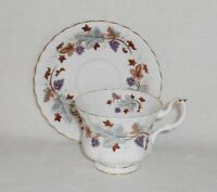 Royal Albert Lorraine Bone China Cup & Saucer Made in England