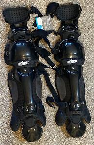 Schutt Catcher Leg Guard Multi Flex S3.2 14 Inches Black Baseball Softball NWT