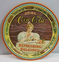 Coca Cola 75th Anniversary Metal Commemorative Serving Tray