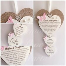 Mother of the Bride gift wooden keepsake