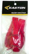 EASTON Batting Helmet Chin Strap Red Adjustable For Baseball/Softball >NEW<