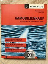 Erste Hilfe IMMOBILIENKAUF - Ratgeber mit CD-Rom - M. Brückner u. F. Lücke