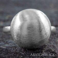 Silberring Silber 925 Ring  Verstellbar Offen R0859🔗 edel, modern, schick, rund