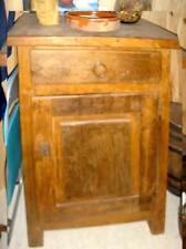 meuble artisanal ancien, en chêne massif, cossu, type confiturier, RARE, A VOIR