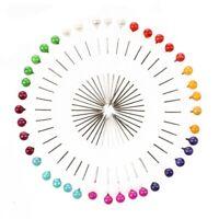 Craft Pin Wheel - 40 Pins - Ball Shaped Pin Heads. Sewing / Quilting Pins. U2B2
