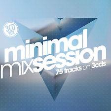 CD Minimal Mixsession von Various Artists 2CDs