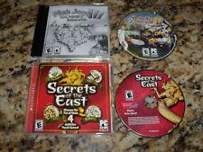 MahJong Quest III Balance of Life (PC, 2007) & Secrets of the East (PC, 2006)
