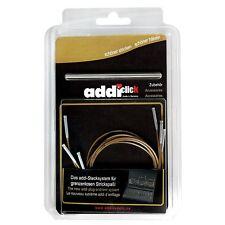 addi-click Basic auswechselbare Seile Nadelseile  3er-Set 60/80/100 cm  658-2