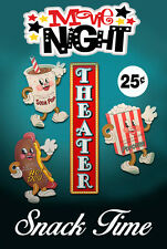 Intermission Movie snack Theater Sign Home Theater Man Cave