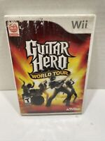 Guitar Hero: World Tour (Nintendo Wii, 2008) Complete Tested Working