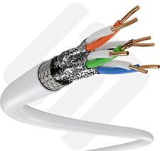 500ft Cat6A S/Ftp In-Wall Riser (Ul Listed) 100% Copper Solid 23Awg 550Mhz Cmr