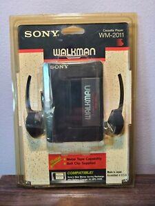 NEW Sony WALKMAN WM-2011 Cassette Player 1990 model metal tape capability JAPAN