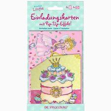 Spiegelburg 11546  *  Einladungskarten   * Prinzessin Lillifee