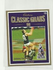 1999 AFL CARLTON ANTHONY KOUTOUFIDES CADBURY CLASSIC GRABS #19 CARD