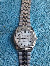 Vintage montre homme Vuillemin Regnier quartz fonctionne Watch neuf