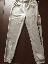 NWT Boys Youth Champion Athletic Jogger Pants Light Gray XL NEW