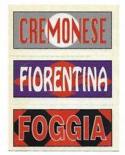 CALCIATORI PANINI 1994 95 - STICK & STACK CREMONESE FOGGIA FIORENTI FIGURINA NEW