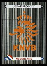 Panini Euro 2012 (Swiss Platinum Edition) Badge (Holland) No. 166