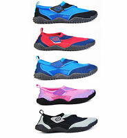 **Adults** Nalu Aqua Shoes Sizes 5-12 in 4 Colours Swimming Surfing Beach Shoes