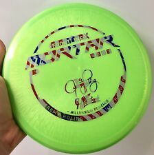 Hyzerbomb Frontline X Mortar 1.4 Run Big Jerm 175g Millennium Rare Disc Golf