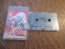 cassette audio IRON MAIDEN a real live one