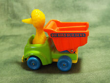 Vintage Playskool Muppets Big Bird Builders Dump Truck