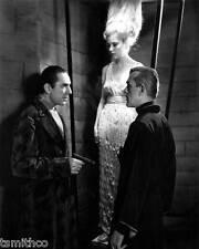 Boris Karloff with Bela Lugosi and Lucille Lund 8x10 Photo 059