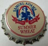 SAMUEL ADAMS SUMMER WHEAT unused Beer CROWN, Bottle Cap, Boston, MASSACHUSETTS