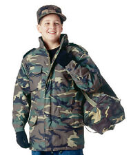 Rothco 7660 Kids - Boys Woodland Camo - M-65 Flight Jacket Woodland Camouflage