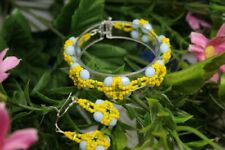 Earrings new hand crafted Sunny Summer Day Bracelet with
