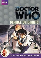 Doctor Who: Planet Of Giants [Region 2] - DVD - NUOVO - 24 ORE 7 Days