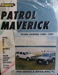 Gregorys Nissan Patrol Petrol 1988-1997 Workshop Repair Manual MPN GAP05509