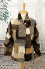 EVA TRALALA Paris Brown Wool blend jacket size M