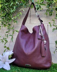 Coach Avery soft Leather N/S Hobo Shoulder Bag 23309 Handbag Purse FIG large